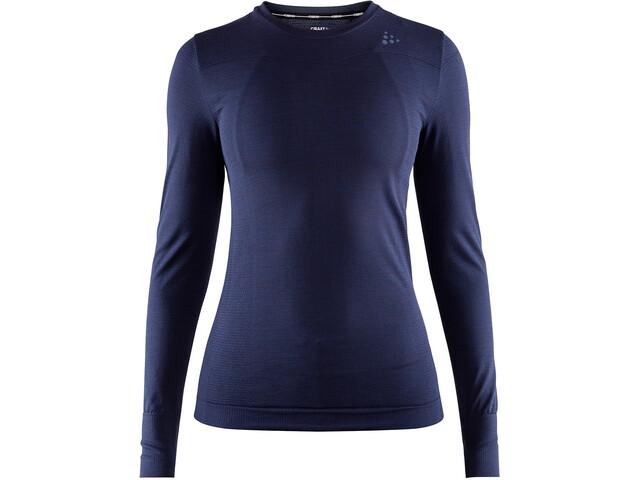 Craft Fuseknit Comfort Roundneck LS Shirt Damen maritime